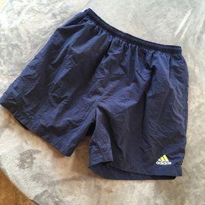 Adidas Navy Swim Trunks